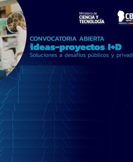 Convocatoria Abierta: Ideas-Proyectos I+D