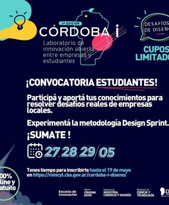 """Ya abrió la convocatoria para participar de """"CÓRDOBA i Diseño"""""""