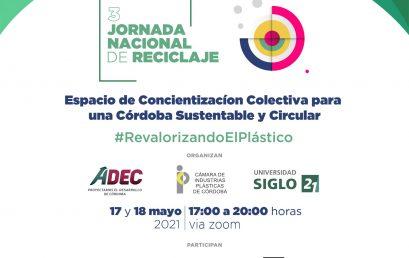 Sumate a la 3º Jornada Nacional de Reciclaje