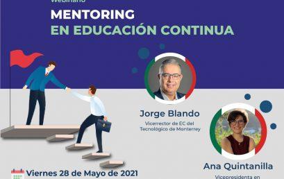 Webinario: Mentoring en Educación Contínua (RECLA)