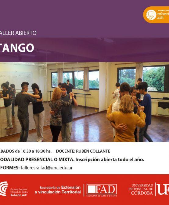 Taller ABIERTO de Tango