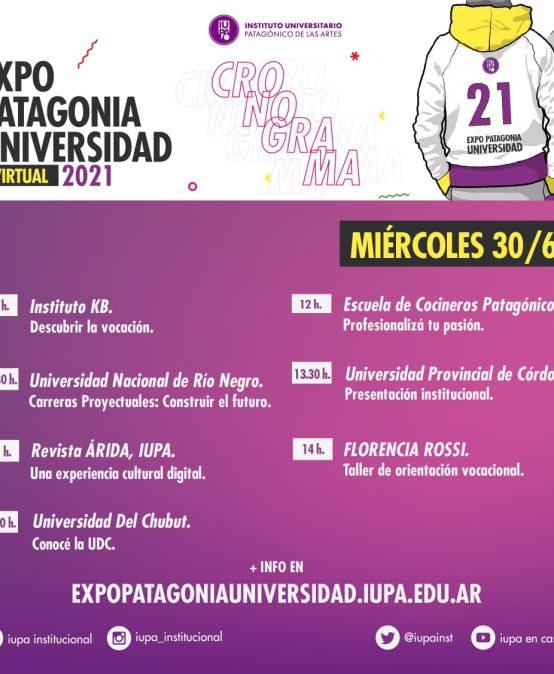 Hoy martes comienza la Expo Patagonia Universidad 2021 con la participación de Darío Sztajnszrajber