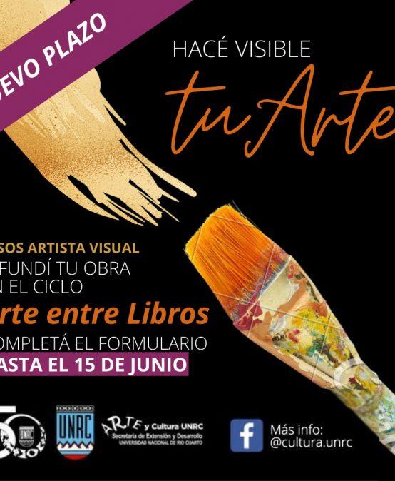 Convocatoria Abierta a artistas visuales para el Ciclo Arte Entre Libros