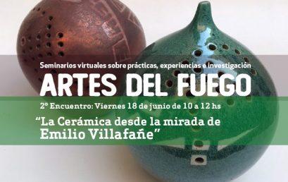 """Invitación al segundo encuentro: """"Seminarios virtuales sobre Prácticas, Experiencias e Investigación en las Artes del Fuego"""""""