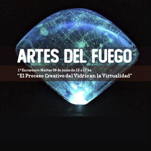 """Invitación al primer encuentro de los """"Seminarios virtuales sobre Prácticas, Experiencias e Investigación en las Artes del Fuego"""""""