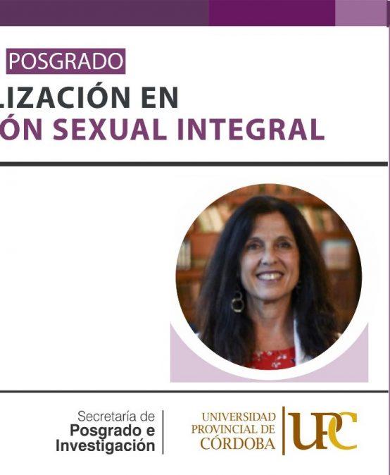 Agendá la apertura de la carrera de posgrado Especialización en Educación Sexual Integral