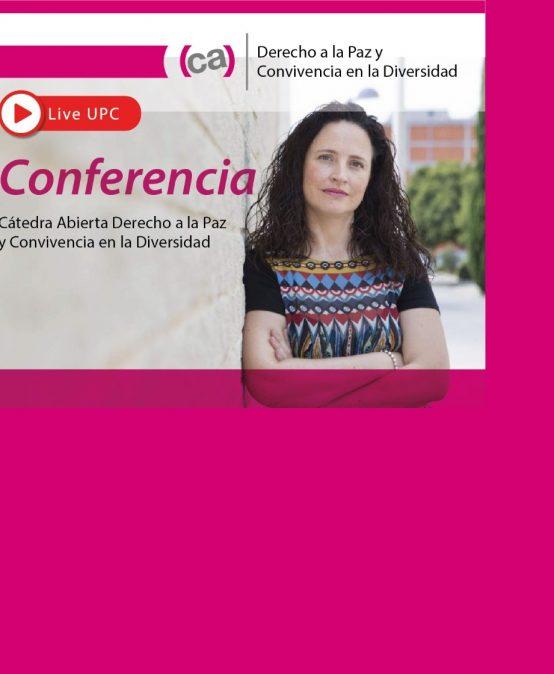 """Conferencia """"Género y Paz"""" a cargo de Irene Comins-Mingol"""