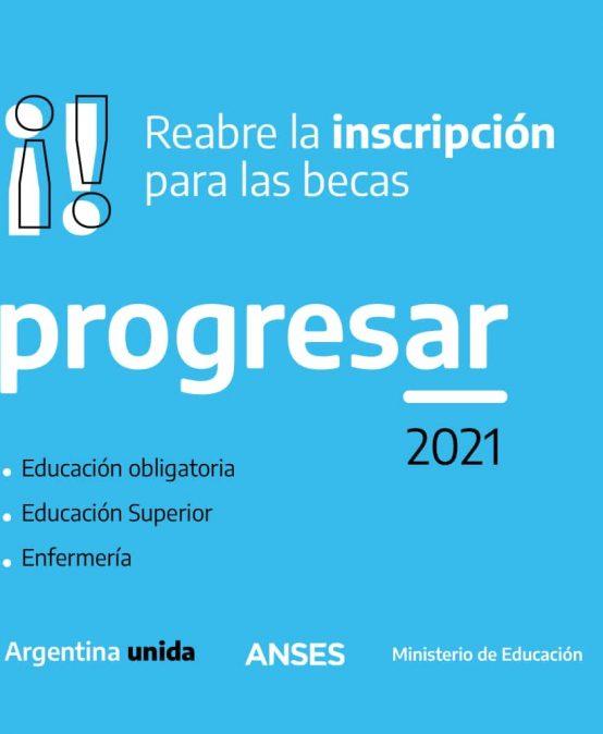 Estudiantes: Abren las inscripciones para las becas Progresar