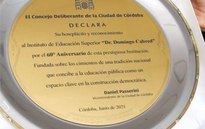 La FES reconocida en el Honorable ConsejoDeliberante de la Ciudad de Córdoba