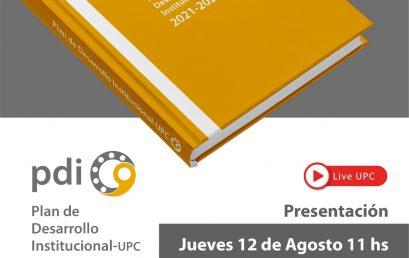 Invitamos al lanzamiento del Plan de Desarrollo Institucional de la UPC