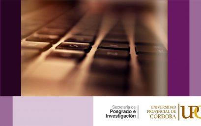 ¡Nuevo Programa de posgrado! La escritura científico-académica: La producción y circulación de textos en los géneros expertos y el abordaje del lenguaje no sexista