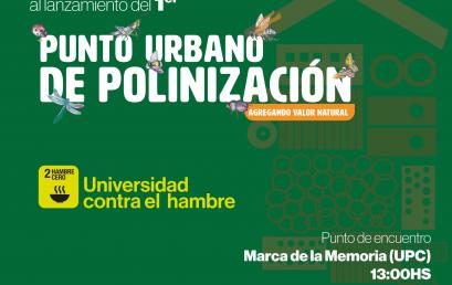 La UPC inaugura el primer Punto Urbano de Polinización