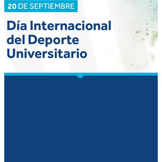 Súmate a las actividades de la UPC por el Día Internacional del Deporte Universitario