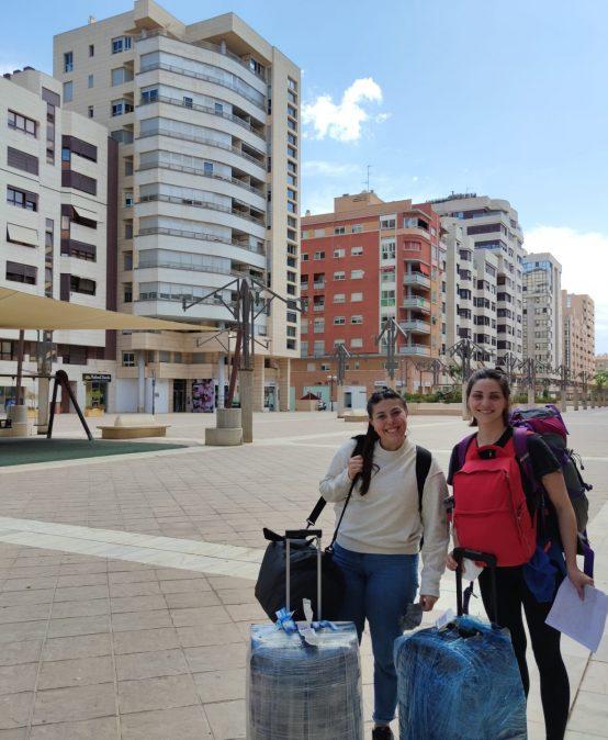 Becarias de UPC se encuentran en Murcia (España) para realizar intercambio académico