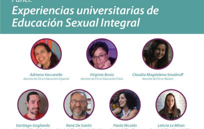 Invitamos al Panel: experiencias universitarias de Educación Sexual Integral