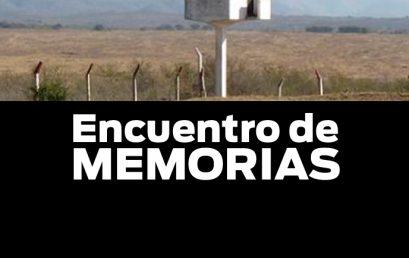 Invitación a Conversatorio: «Encuentro de Memorias»