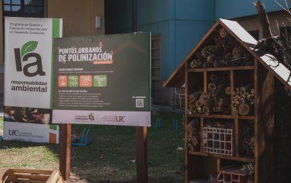 La UPC inauguró el Primer Punto Urbano de Polinización