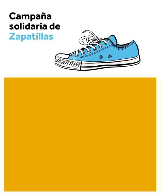 Súmate a la Campaña solidaria de Zapatillas