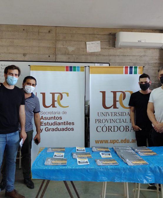 La UPC acompañando el 6to aniversario del Parque Educativo Sur