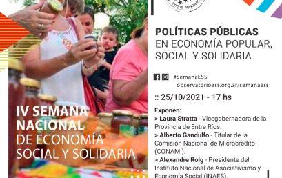 La UPC participa en la Semana Nacional de Economía Social y Solidaria