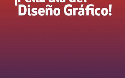 ¡Este 24 de octubre celebramos el día del Diseño Gráfico!