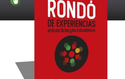 ¡Ya llega la tercera edición del Congreso Rondó en la voz de las y los estudiantes!