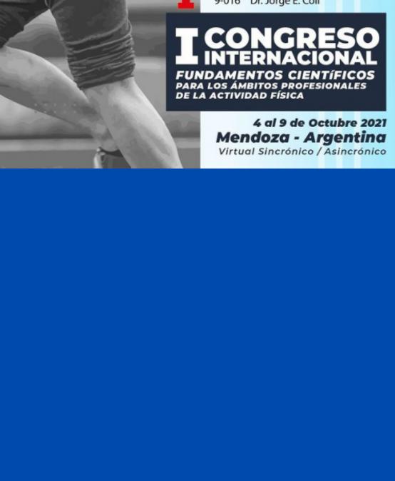 La Facultad de Educación Física Ipef participará en el I Congreso Internacional Fundamentos científicos para los ámbitos profesionales de la actividad física
