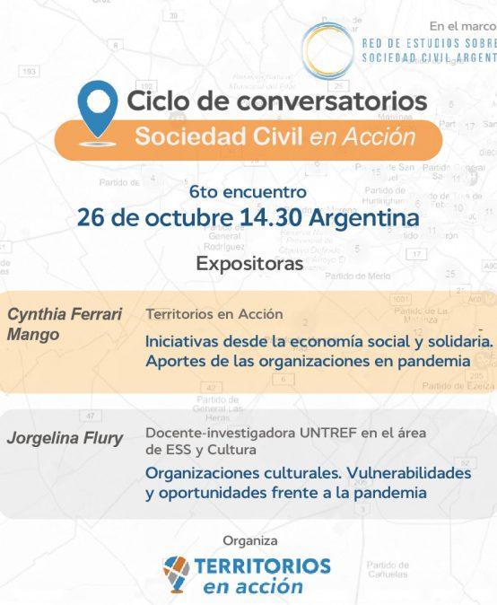 Invitamos al Conversatorio: Pandemia y Organizaciones: estrategias desde la Economía Social